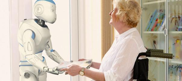Caring Robot with Elderly Patient