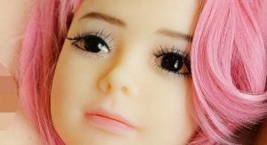 Japanese Child Doll's Face