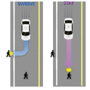 Swerving To Avoid Pedestrians